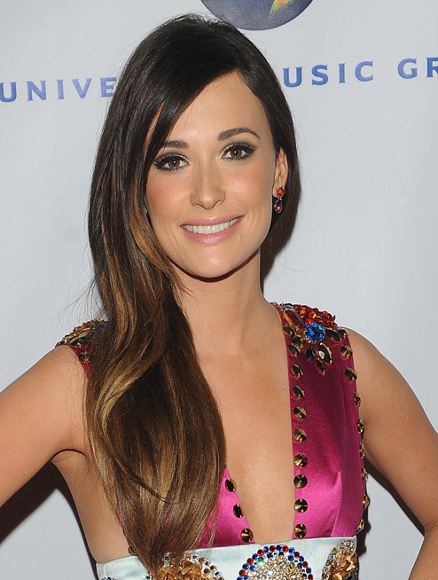 """Brown 20"""" Lace Front Kacey Musgraves Wigs"""