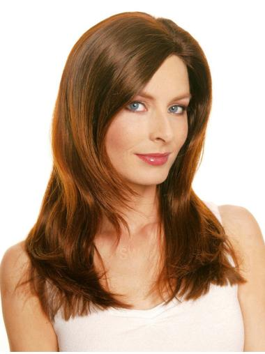 Auburn LayeLace Front Straight Comfortable Long Wigs