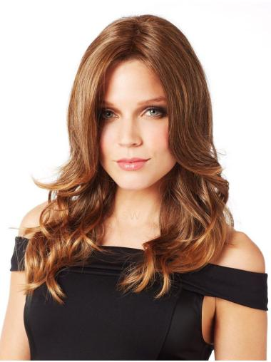 Top Auburn Curly Synthetic Long Wigs