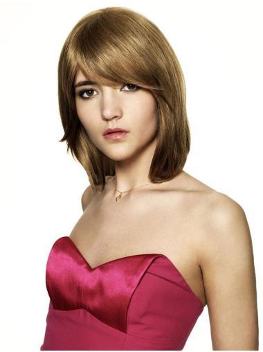 Sassy Auburn Straight Chin Length Synthetic Wigs