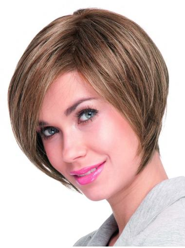 Online Auburn Lace Front Chin Length Lace Wigs
