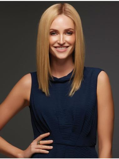 New Design Blonde Straight Long Full Lace Great Wigs