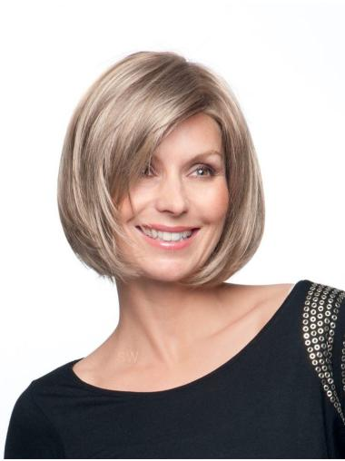Sassy Blonde Lace Front Chin Length Petite Wigs