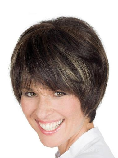 Exquisite Lace Front Straight Short Petite Wigs