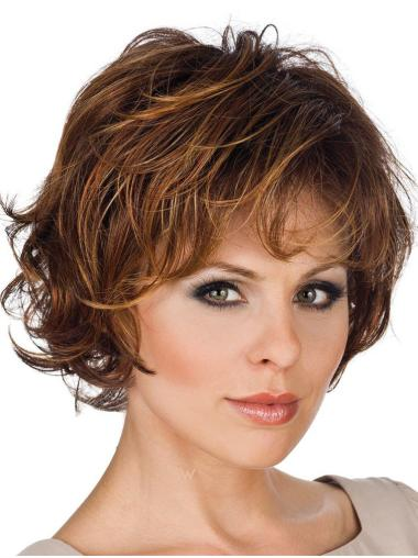 Lace Front Exquisite Layered Straight Short Wigs