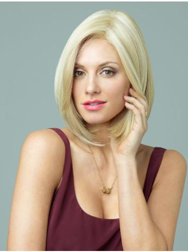Blonde Radiant Layered Monofilament Short Wigs