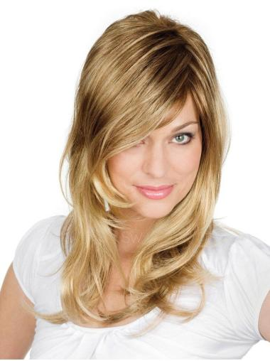 Blonde Wavy Synthetic Discount Long Wigs