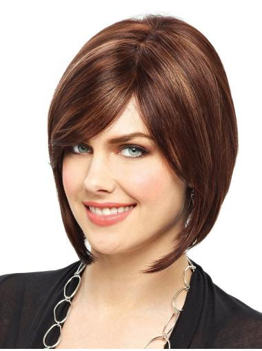 Wholesome Lace Front Straight Chin Length Petite Wigs
