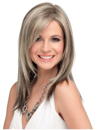 Shining Synthetic Lace Front Long Wigs