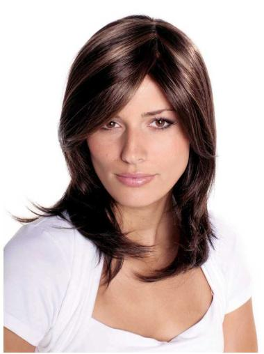 Best Brown Straight Long Synthetic Wigs