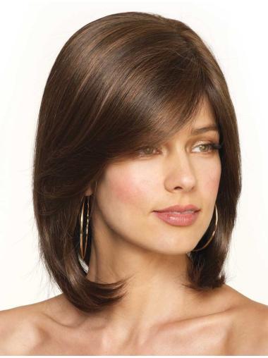 Auburn Fashion Lace Front Synthetic Medium Wigs