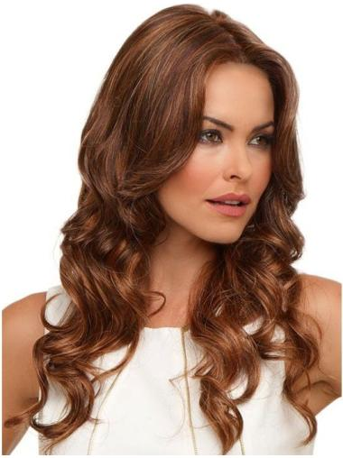 Affordable Auburn Curly Synthetic Long Wigs