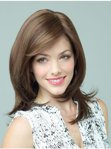 Tempting Synthetic Brown Wavy Long Wigs