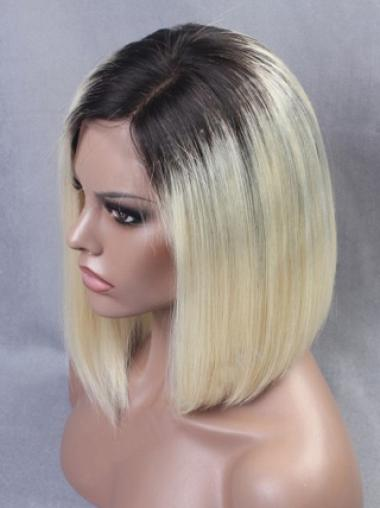 Inspired Ombre Bob Full Lace Human Hair Wig
