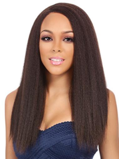 Yaki Natural Straight Human Hair Wigs