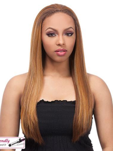 Yaki Blonde Colour Human Hair Wigs