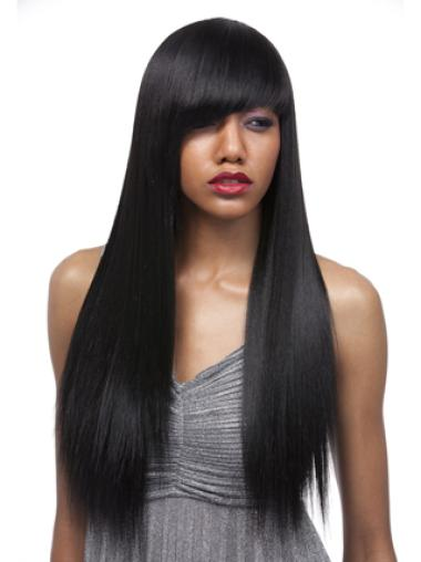 Yaki 24 Inch With Bangs Synthetic Wigs
