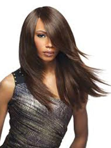 Yaki Brown Synthetic Wigs