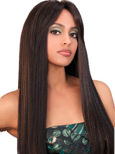 Yaki With Bangs Lace Wigs