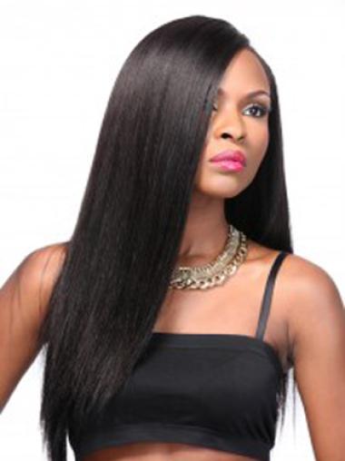 Yaki Black Long Straight Style ASynthetic Wigs