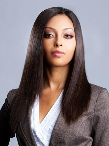 Yaki Auburn Long Straight Lace Front Synthetic Wigs