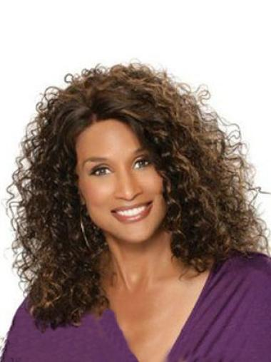 Beverly Johnson Classic Bouffant Mid Length Curly Lace