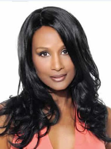 Native Grace Beverly Johnson Long Wavy Human Hair Wigs