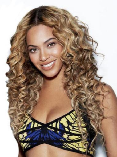 Top Beyonce Inspired 24 Inches Human Hair Lace Wig