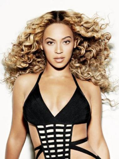 New Arrival Beyonce 18 Inches Thicken Human Hair Lace Wig