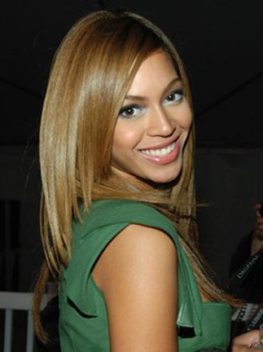 Beyonce 18Inches Silky Straight Remy Human Hair Lace Wig