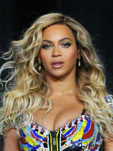 New Arrival Beyonce 18 Inches Human Hair Lace Wig Free Shipping