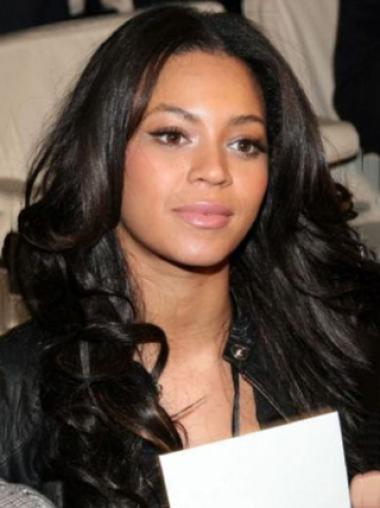 Beyonce Knowles Refined and Beautiful 100% Remy Human Hair Long Wavy Full Lace Wig about 22 Inches
