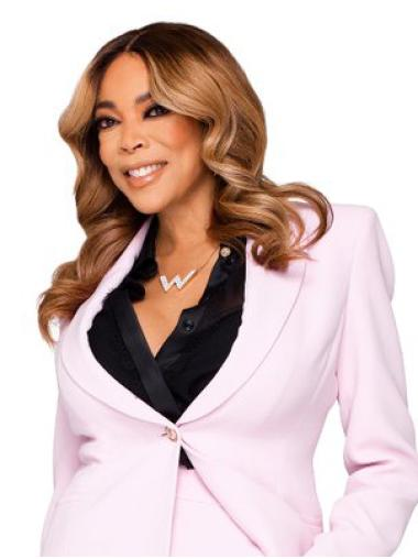 Remy Human Hair Blonde Wavy Shoulder Length Wendy Williams Wigs