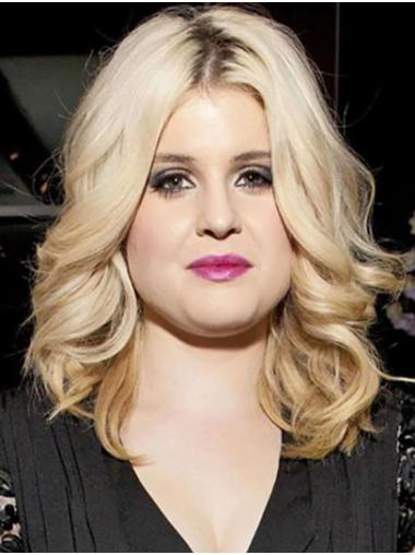 """Shoulder Length Full Lace Synthetic Curly 14"""" Kelly Osbourne Wigs"""
