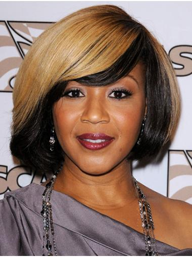 Bobs Straight Chin Length Ombre/2 Tone Capless Erica Campbell Wigs