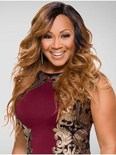 Without Bangs Curly Long Blonde Lace Front Erica Campbell Wigs