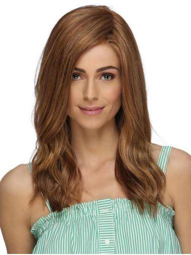 Long Hairstyles Brown Synthetic Without Bangs Lace Front Wigs