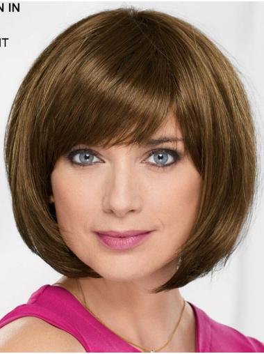 "10"" Chin Length Blonde Straight Online Bob Wigs"