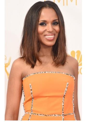 """16"""" Shoulder Length Straight Ombre Color Full Lace Wigs"""