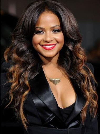 """18"""" Long Wavy Full Lace Wigs Layered Ombre Wigs"""