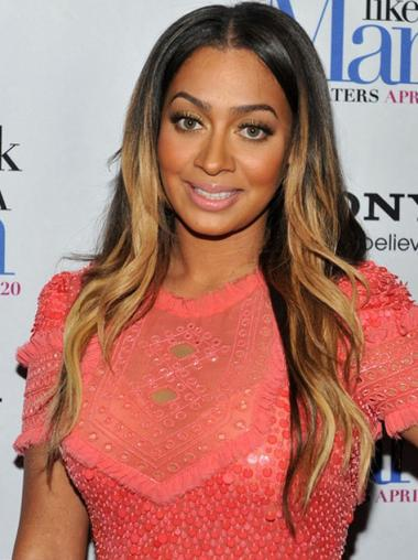 """18"""" Indian Remy Hair Full Lace Wigs Long Wavy Wigs Ombre"""