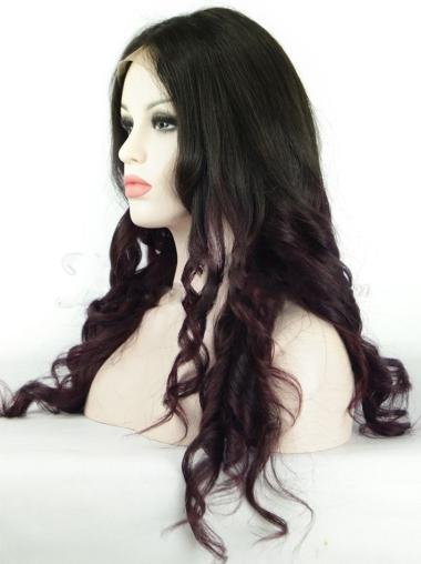 Wavy Full Lace Wigs Long Ombre Wigs