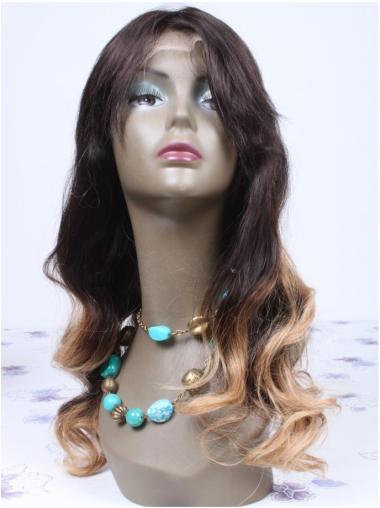 "18"" Long Wavy Full Lace Ombre Wigs"