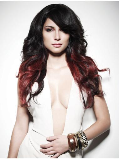 """22"""" Wavy Long Lace Front Two Tone Wigs"""