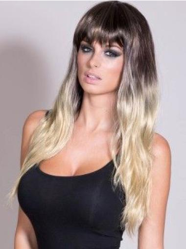 """24"""" Straight Long Full Lace Ombre Wigs"""