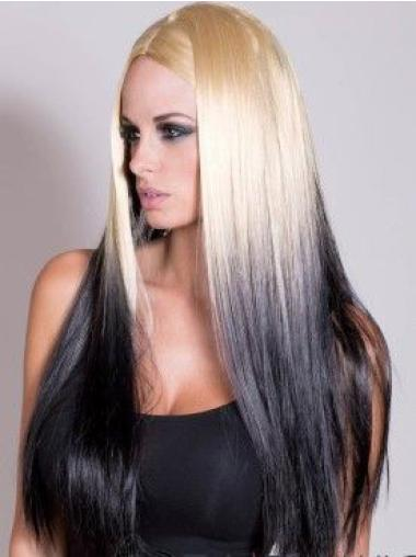 """22"""" Straight Long Lace Front Ombre Wigs"""