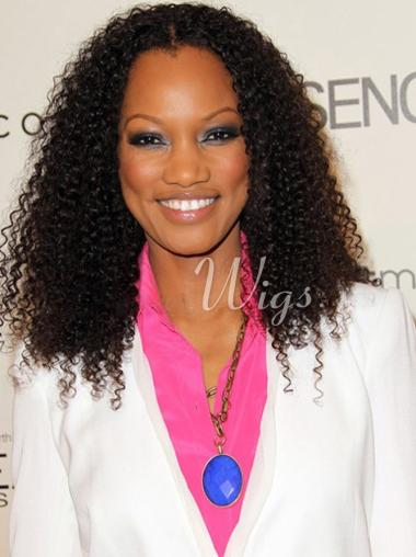 Garcelle Beauvais Human Hair Full Lace Wig Kinky Curly Wigs