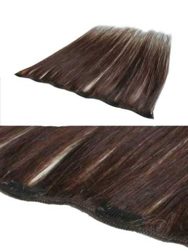 Remy Human Hair Straight Auburn Graceful Clip in Hair Extensions
