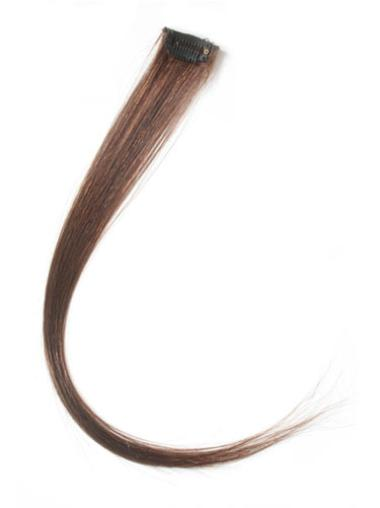 Remy Human Hair Straight Auburn Trendy Clip in Hair Extensions