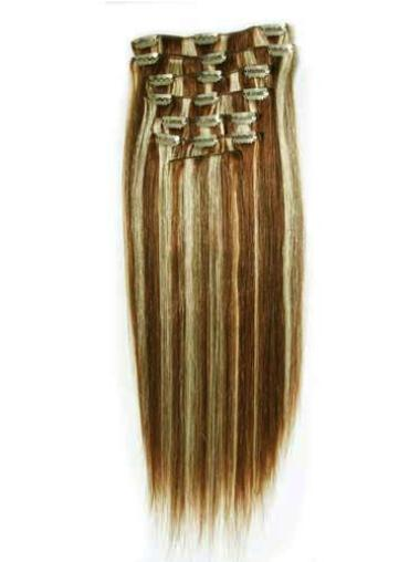 Remy Human Hair Straight Unique Clip in Hair Extensions